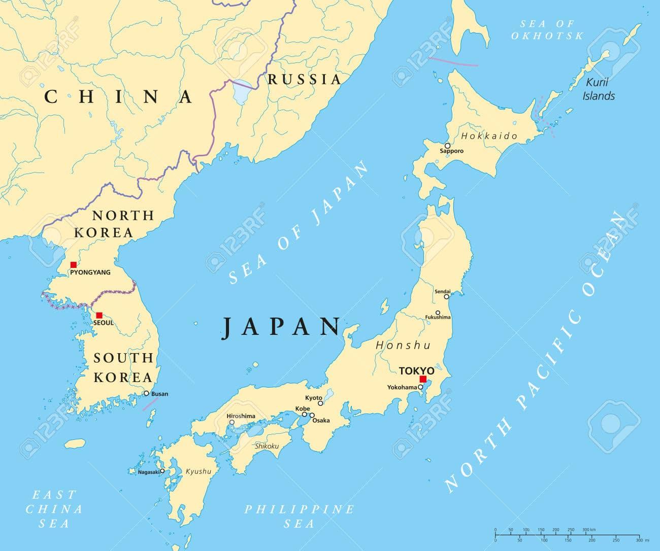 Il Giappone Cartina Politica.Si Si Rischia La Guerra Patria Indipendente