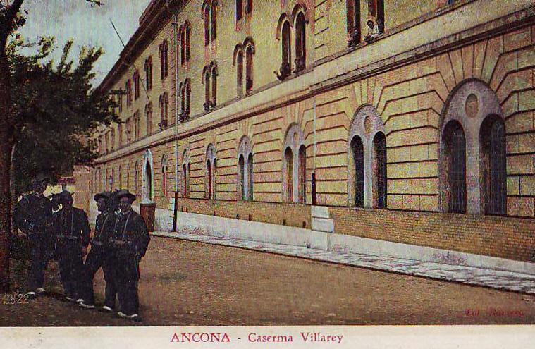 Ancona, Caserma dei bersaglieri
