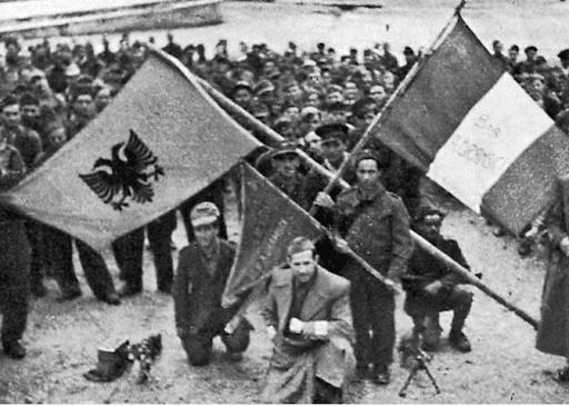 Il battaglione Gramsci in Albania