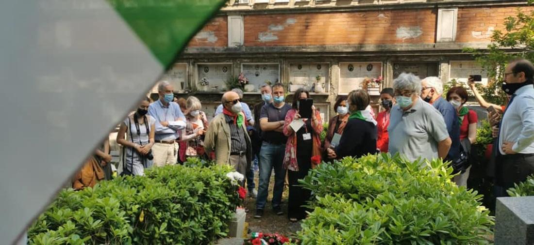 Roma Verano presenti istituzioni e associazioni