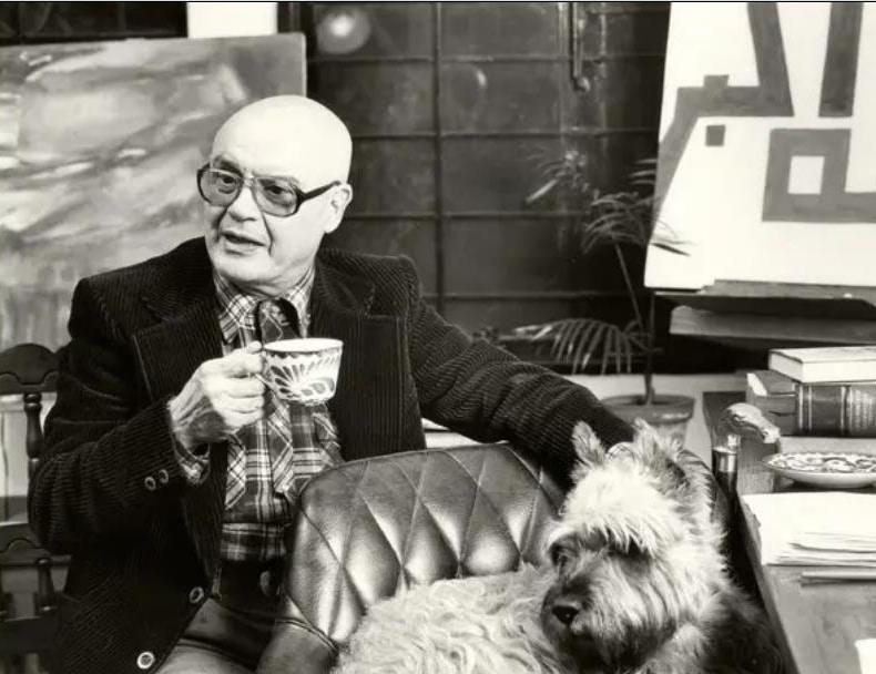 Lo scrittore Carlo Coccioli
