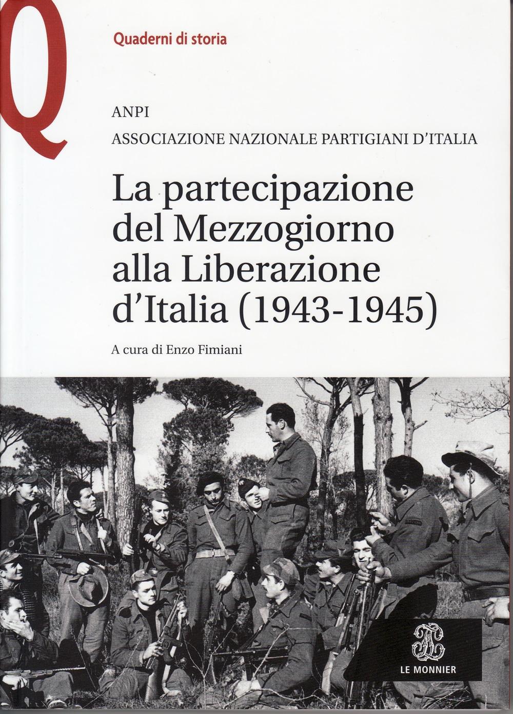 Il libro pubblicato dall'ANPI sula Resistenza nel Mezzogiorno