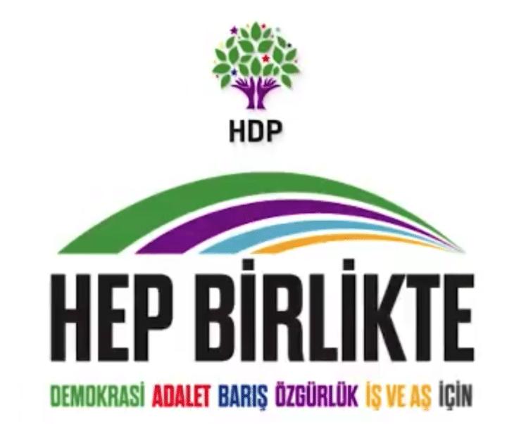 Il logo della Marcia per la democrazia