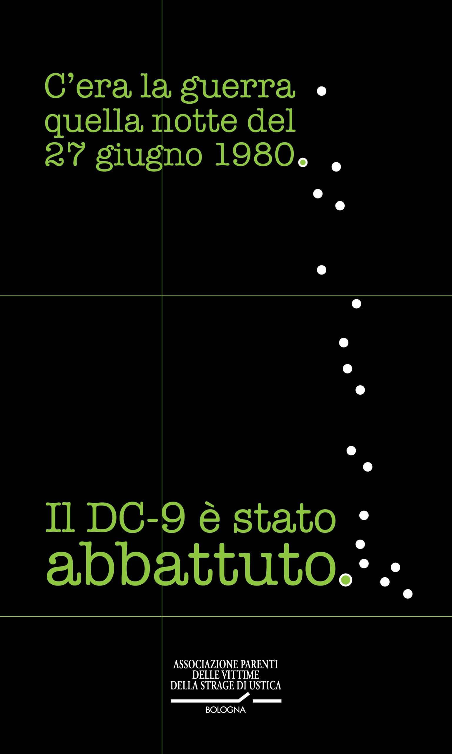 strage di Ustica il manifesto 2020