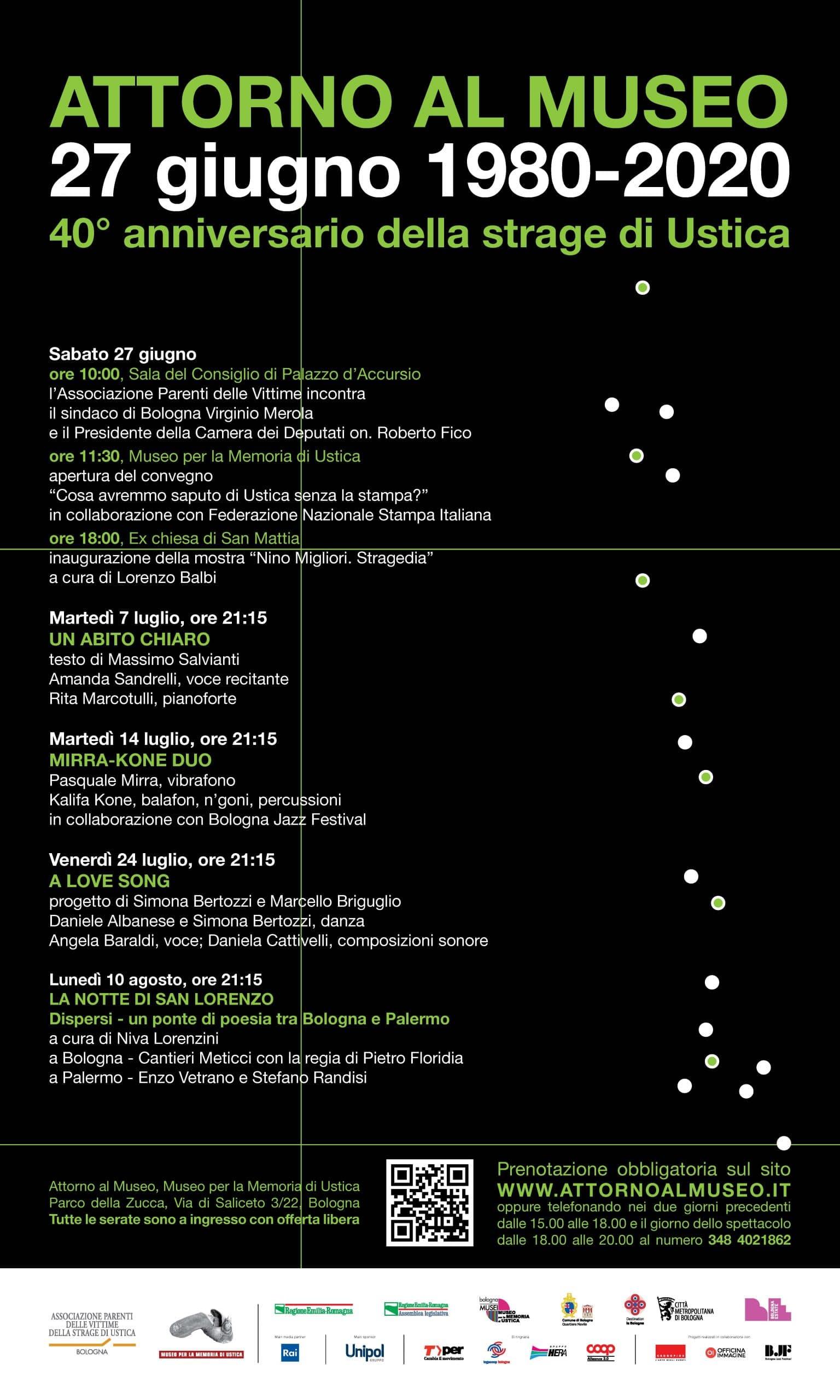 manifesto iniziative Ustica 2020