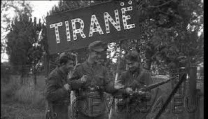 Partigiani alle porte di Tirana