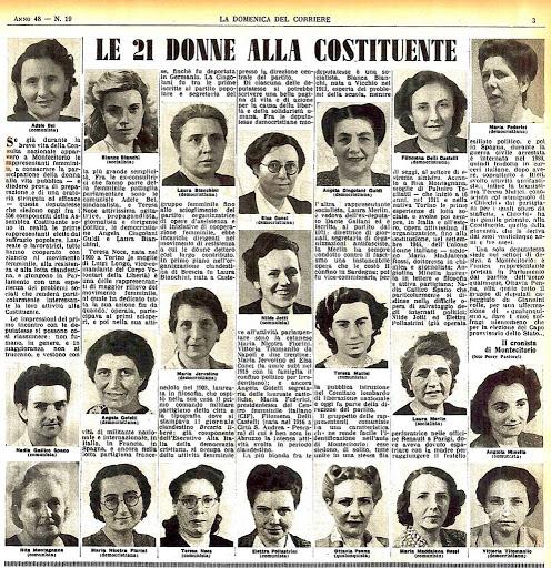 21 madri costituenti