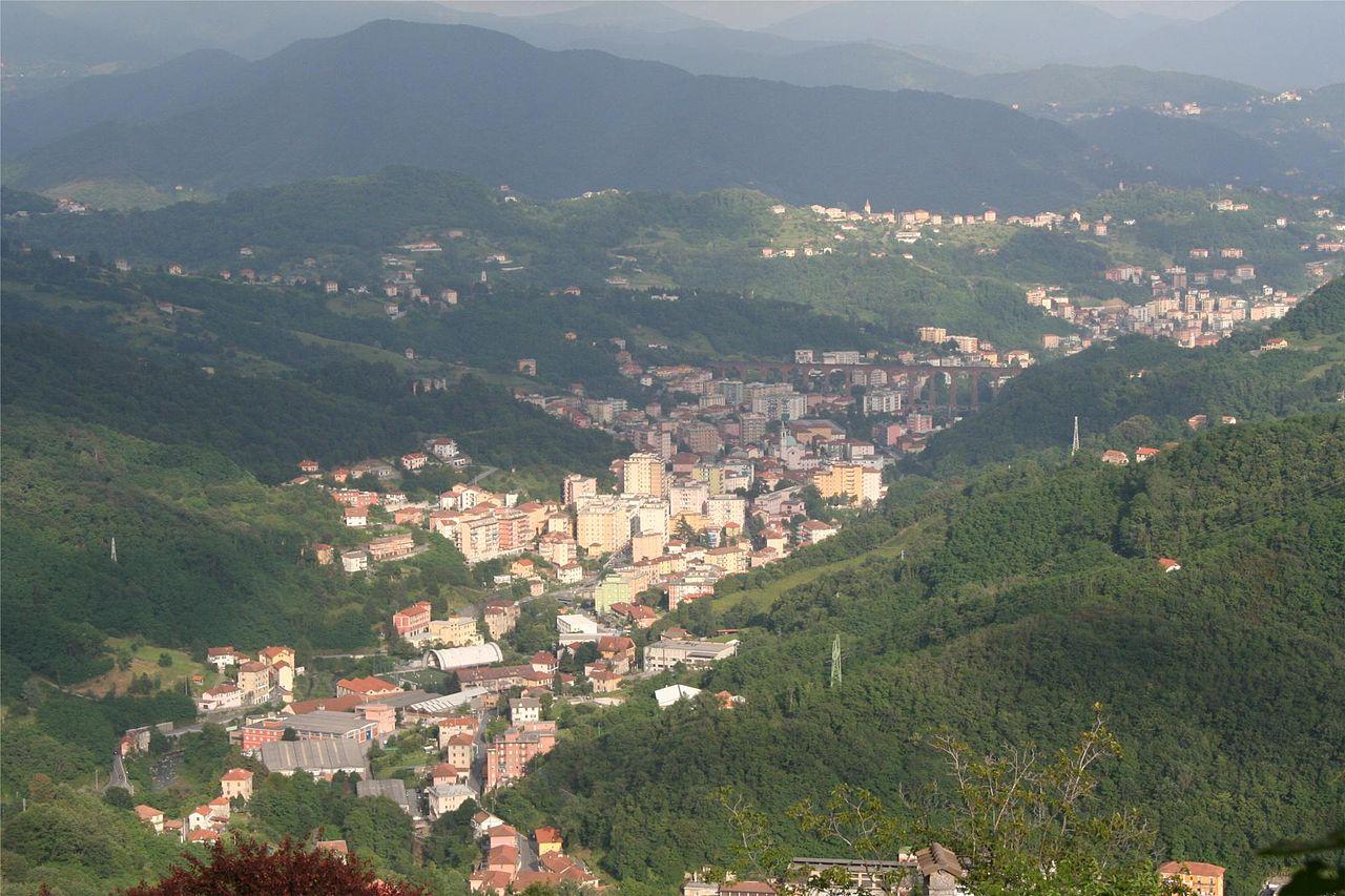 Panorama di Campomorone oggi