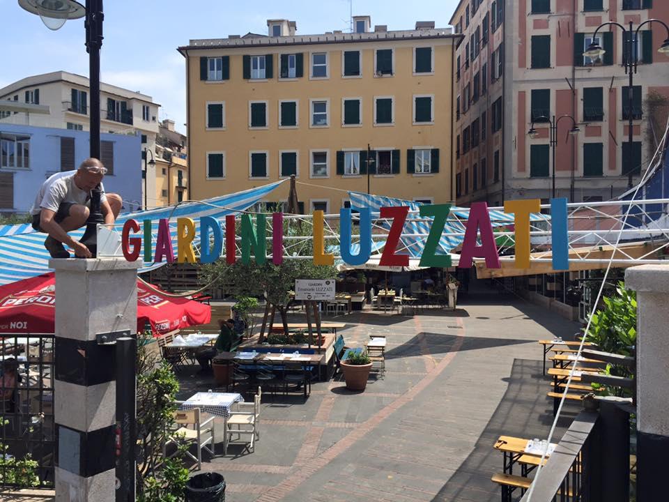 Giardini Luzzati a Genova