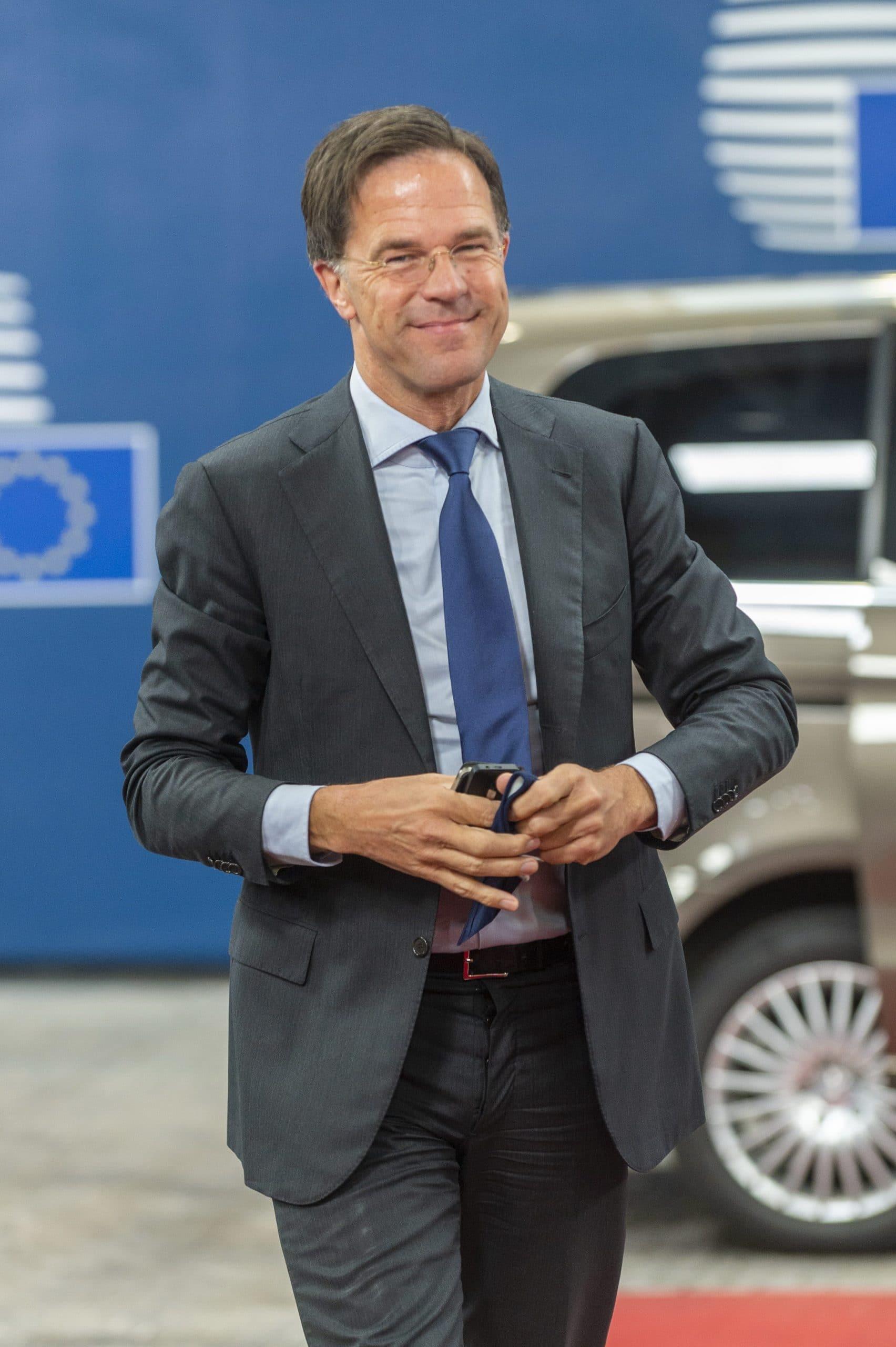 Il leader olandese Mark Rutte (foro Imagoeconomica)