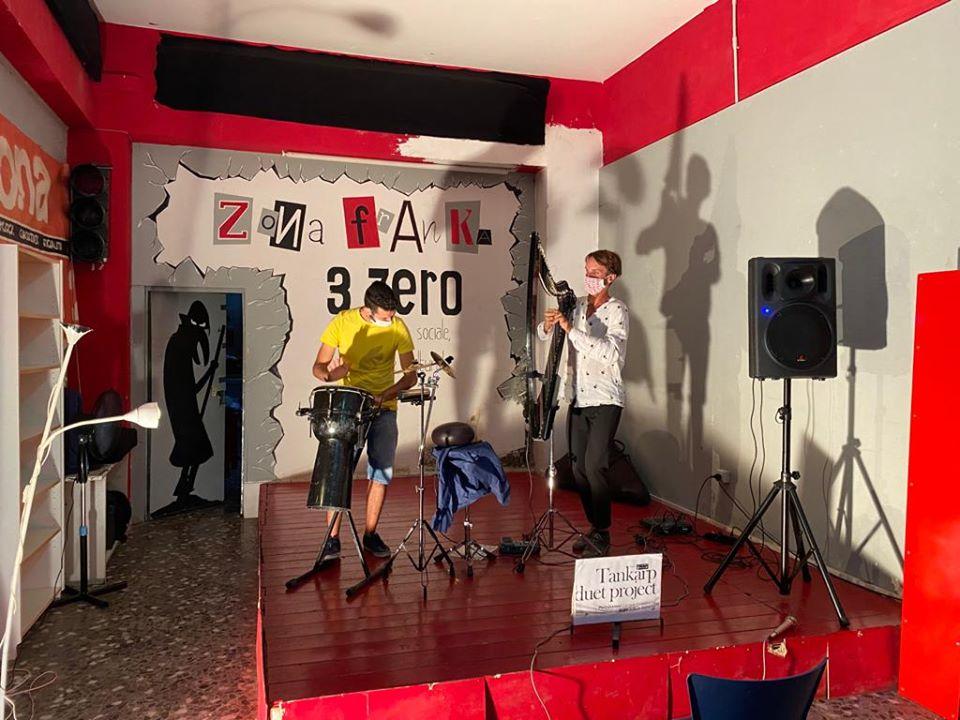 I Tankarp duo project alla Festa del tesseramento Anpi 2020 a Bari