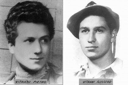 I fratelli partigiani Pietro e Ruggero Vitrani