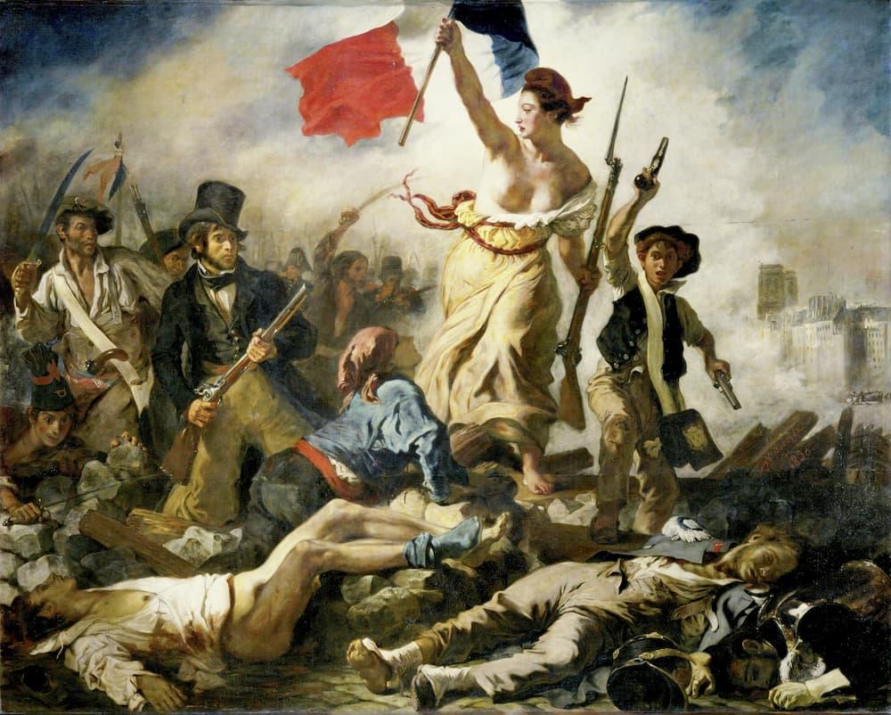 Eugéne Delacroix, La libertà che guida il popolo