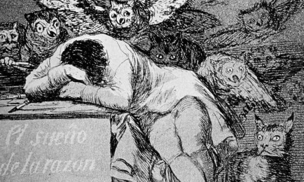 Francisco Goya, Il sonno della ragione genera mostri