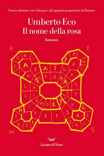 Il nome della rosa copertina libro