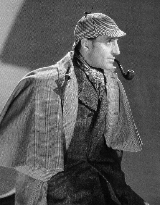 Basil Rathbone nei panni di Sherlock Holmes
