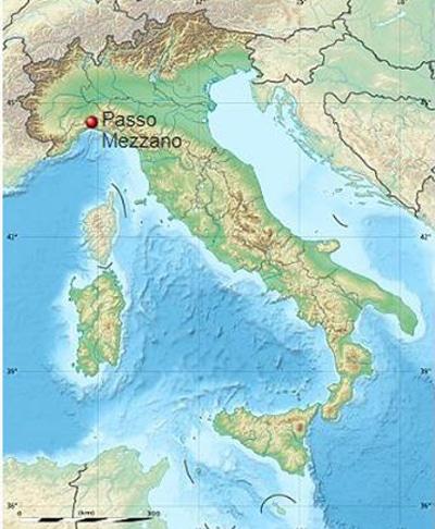 passo mezzano mappa geolocalizzazione