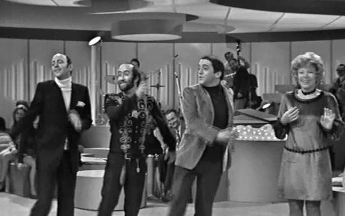 Nanni Svampa, Lucio Dalla, Lino Patruno, Lucia Vannucci negli anni 70