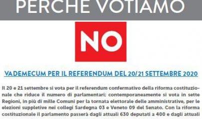 anpi vademecum del no sul taglio dei parlamentari al referendum del 20 2 21 settembre