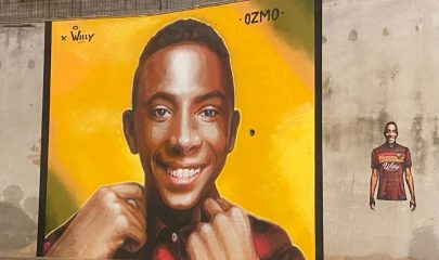 Il murales a Colleferro dedicato a Willy